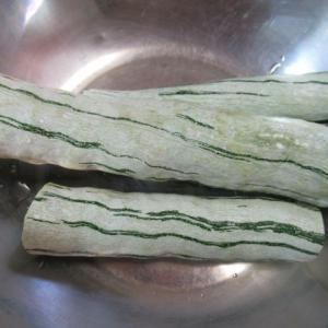 蛇瓜の白煮