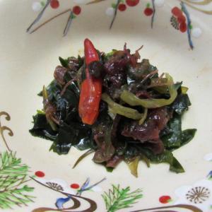 海藻ミックスの豆豉炊き
