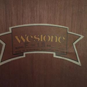 Westone F-18 弦高周りの調整