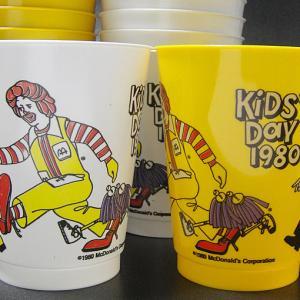 ★80'sアメリカ マクドナルド キッズ・デイ1980年プラスチックカップ