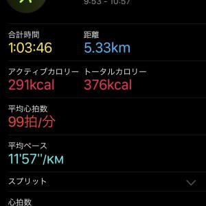 心拍の平均を100にしたくてApple Watchのバンドを調整しました。