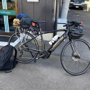 二人自転車ソロキャンプ!?