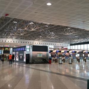 ミラノ・マルペンサ空港で暇をもてあます