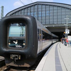 列車ごとフェリーに!渡り鳥ラインでコペンハーゲンへ!