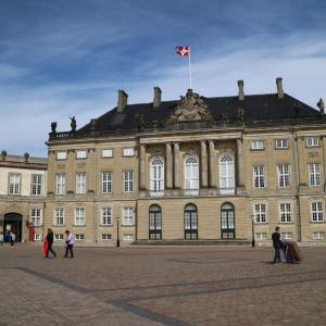 デンマーク女王の居城、アメリエンボー城