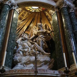 サンタ・マリア・デッラ・ヴィットーリア教会からのEATALY