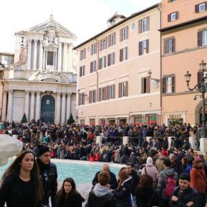 大みそかにローマでマラソン大会!?