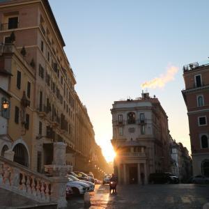ローマの初日の出を見ようと思ったけれど…