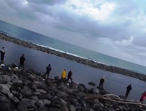 冬のショアトラウト釣行③石狩北部~日高各漁港<br />