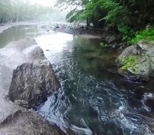雨の中、白老の2渓流に釣行