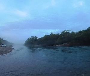 ヤマメ解禁の静内川に釣行したが・・・