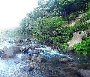 ヤマメを狙って大雨に強い白老渓流へ<br />