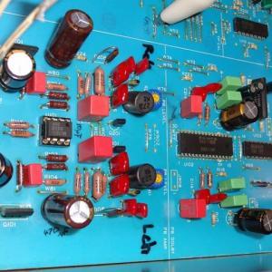 カセットデッキ音質向上のための改造。