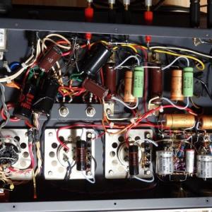 45 シングルアンプの製作(12) ~グランドラインの引き回しを修正~