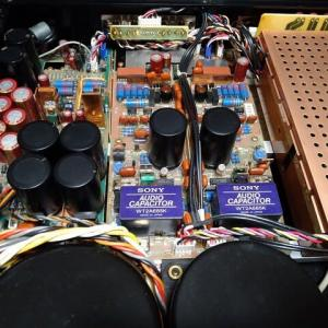 DAC DAS-703ESの出力カップリングCを変更。