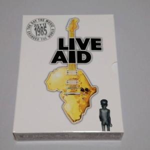 歴史的ライブ・イベントのDVDを鑑賞。~LIVE AID 1985~