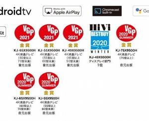 TVの進化に驚愕!!~55V Android TV購入~