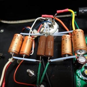 WE421A ppアンプのカソード・パスコンを変更。~音質の微調整~