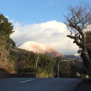 今朝の浮山