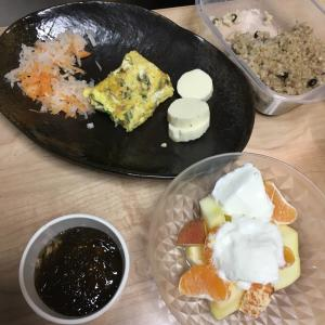 最近の朝ご飯