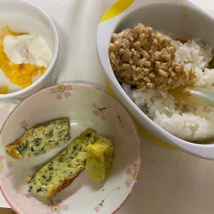 三太郎の食欲と週末朝ご飯