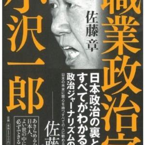 【書評】職業政治家 小沢一郎
