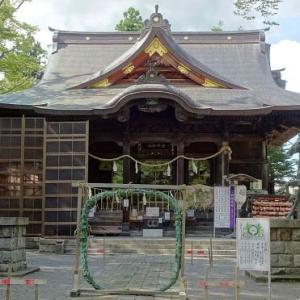 金峯神社の「茅の輪くぐり」
