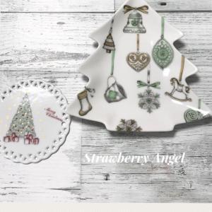 ポーセラーツフリーコースの生徒様の作品★これからクリスマス作品作り楽しくなりますね~