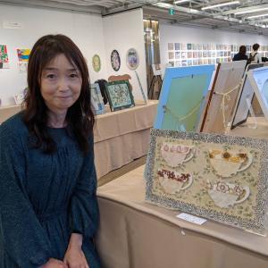 トールペイント日本展に行ってきました☆素敵な作品ばかりに刺激を頂きまた今日から頑張れます★