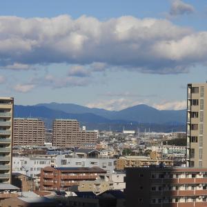 【静岡県浜松市】街中からのアルプスと富士山