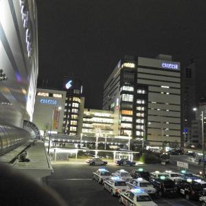 【静岡県浜松市】JR浜松駅北の街中夜景