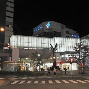【静岡県浜松市】夜の歓楽街と猫とシンガーソングライターBenyさんのライブと月