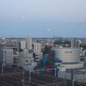 【静岡県浜松市】フラワームーン(5月の満月)と浜松科学館みらい~ら