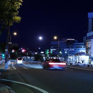 【静岡県浜松市】フラワームーン(5月の満月) JR浜松駅前撮影編 その②