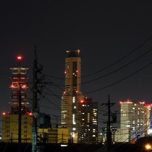 【静岡県浜松市】梅雨の晴れ間の夜景