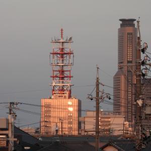 日の出直後の風景