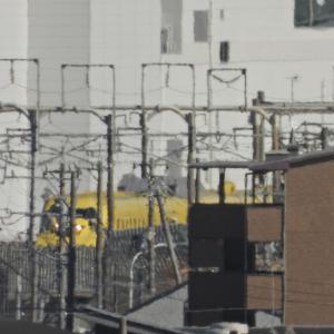 待機中のドクターイエローが浜松駅に臨時停車