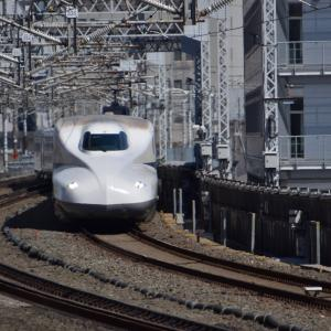 【撮り鉄新幹線】浜松駅ホーム こだま のぞみ 下り