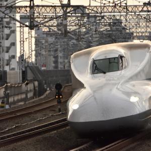 【撮り鉄新幹線】浜松駅ホームにてドクターイエロー上り