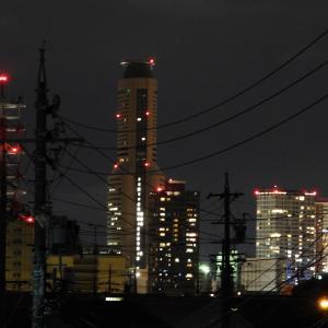 【静岡県浜松市】JR浜松駅方面の夜景