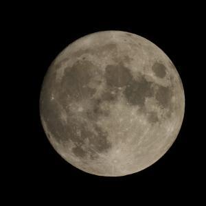 【天体観測・撮影】今夜の中秋の名月は見れず 残念