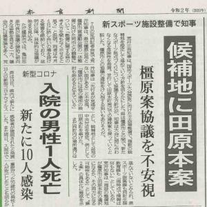 国民体育大会の主会場 田原本町案が浮上