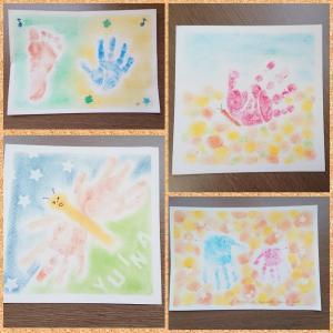 お子さんの可愛い手形と写真で思い出を残しませんか?夏休み撮影会&パステル手形アート