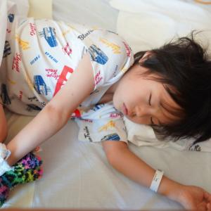 IgA血管炎 入院4日目 腹痛の再燃→回復