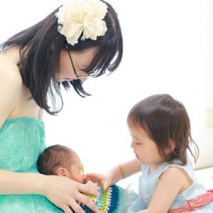 マタニティフォトのafter 新生児フォト お姉ちゃんの成長