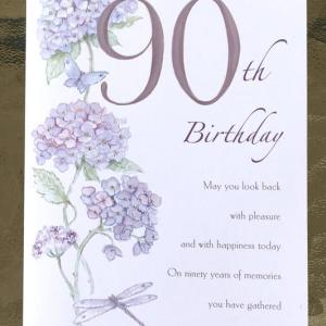 パーティーはできなかったけれど...90歳のお誕生日おめでとう! *:..。o○☆