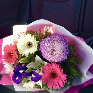母の日の花束
