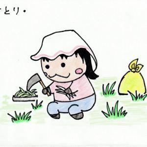 かっちゃん便利屋の「草取り」はサポート人気No.3です★