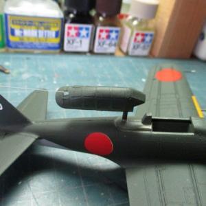 ハセガワ 1/72 旧キット 零戦52型(その10)
