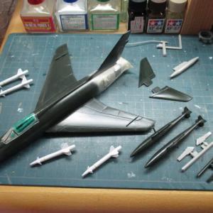 ハセガワ 1/72 F-100D スーパーセイバー(その9)